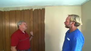 paint wood paneling