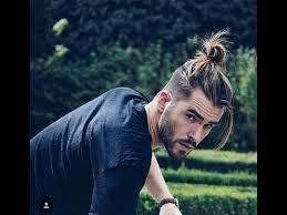 chico tv model hairstyles man bun by sergio gonzalez hairstyle tutorial youtube