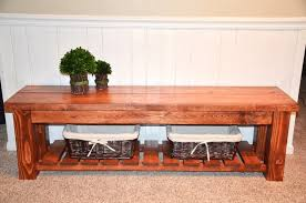 diy rustic entryway bench new lighting classic and rustic