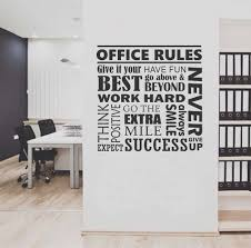 office rules collage quote wall lettering vinyl office decals office rules collage quote wall lettering vinyl office decals