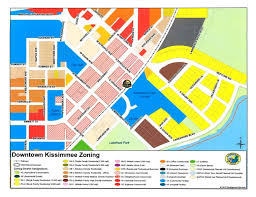 map of kissimmee zoning map city of kissimmee fl