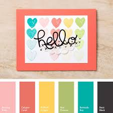Colorcombinations 270 Best Stampin U0027 Up Color Combos Images On Pinterest Color