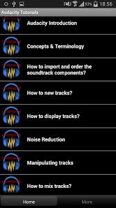 audacity apk free audacity tutorials android apps on play