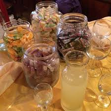 Jar Table L Jars On The Table Picture Of L Immagine Ristorante Bistrot