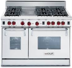 Wolf 48 Inch Gas Cooktop Wolf R486c 48 Inch Pro Style Gas Range With 6 Dual Brass Open