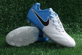 Nike T90 nike blue boots nike t90 laser iv kl fg boots white blue nike soccer