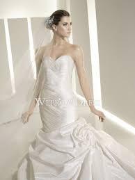 applique white satin brush train sleeveless strapless sweetheart