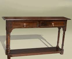 long side table with drawers best shallow console table homesfeed
