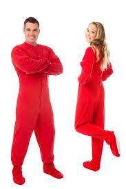 micro polar fleece footed pajamas in big footed