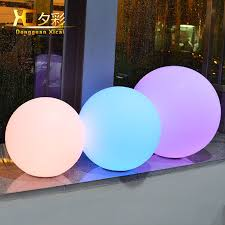 Remote Control Landscape Lighting - aliexpress com buy 25cm chargeable cordless waterproof lawn ball
