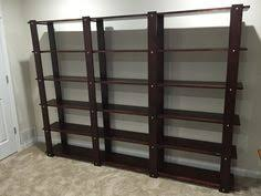 cheap easy low waste bookshelf plans shelving wood