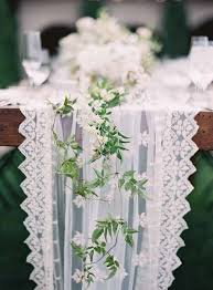 lace table runners wedding 26 ridiculously pretty seriously creative wedding table runners