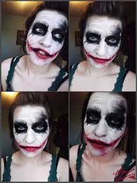 you wanna know joker makeup test by thedandydragon on
