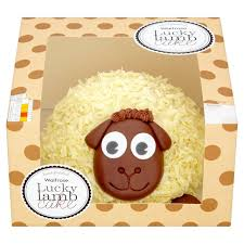 waitrose lucky lamb cake 12 servings from ocado
