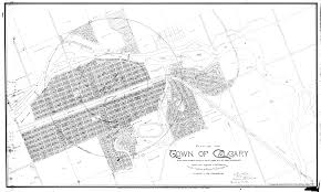 Map Of Canada Showing Calgary by Historic Maps Of Calgary Skyscraperpage Forum