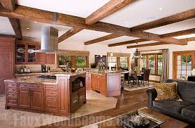 open floor plans with pictures open floor plan with ceiling beams family room new york by