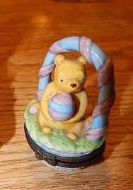 winnie the pooh easter basket disney winnie the pooh piglet hinged trinket box by midwest of