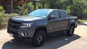 chevy colorado silver 2015 lifted chevrolet colorado youtube