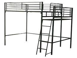 lit mezzanine noir avec bureau lit mezzanine metal 2 places lit mezzanine 2 places metal noir