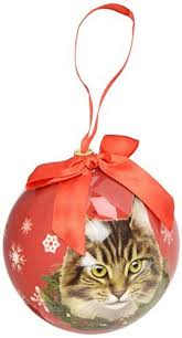 cat ornaments for