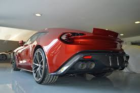 aston martin vanquish red aston martin vanquish zagato arrives in mexico for sale drivers