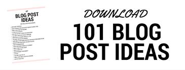 blogger guide pdf 101 blog post ideas for the lifestyle blogger zobia alvi
