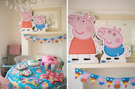 peppa pig party real party peppa pig party pieces inspiration