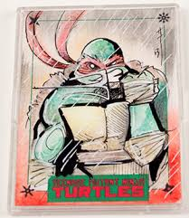 2014 idw limited teenage mutant ninja turtles sketch cards