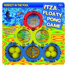 Pool Beer Pong Table by Water Sports Itza Floaty Pong Backyard And Pool Game Beer Pong
