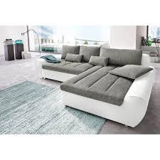 canapé d angle bi matière canapé d angle bi matière avec méridienne à droite ou à gauche