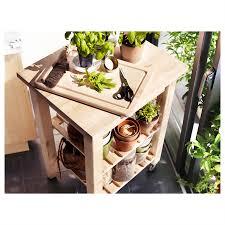 ikea bekvam kitchen trolley birch 58 x 50cm home kitchen dining ebay
