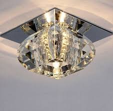 Modern Ceiling Light Fixtures by Modern Crystal Led Bulb Warm White Ceiling Light Lighting