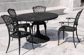 Round Table Kerman Home Depot Outdoor Dining Table A Bit Too Frilly But Could Be