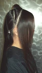 long hair that comes to a point forward graduation reflections training academy
