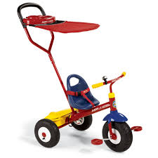 Radio Flyer Tricycle Bell The Stroller Tricycle Transition Bike Hammacher Schlemmer