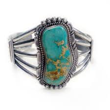 bracelet silver turquoise images Vintage navajo blue green turquoise cuff from ruby and juniper jpg