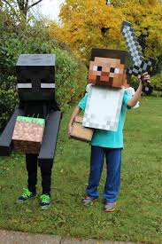 Minecraft Costume Diy Costumes U2014 Renee Leone Studio