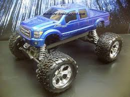 ford 250 2011 super duty custom painted rc monster truck body 1