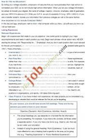 resume template online free examples 10 best detailed efficient