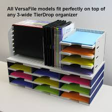 Desk Organizer Shelf Versafile 4 Divider 6 Shelf Organizer For Office Space Ultimate