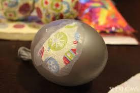 diy paper mache ornaments