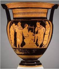 Classical Vases Orpheus Vase By The Orpheus Painter Interactive Ancients