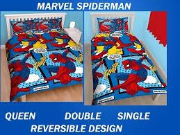 Avengers Duvet Cover Single Marvel Comic Hero Avengers Kids Licensed Quilt Duvet Bedding Coverset
