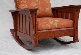 Oak Rocking Chairs Voorhees Craftsman Mission Oak Furniture Slant Arm Gustav