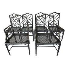 Black And White Patio Furniture Vintage U0026 Used Dining Table U0026 Chair Sets Chairish