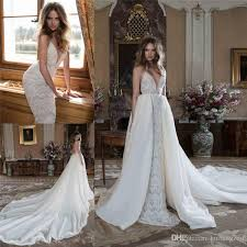 wedding dress with detachable discount berta bridal lace wedding dresses with detachable