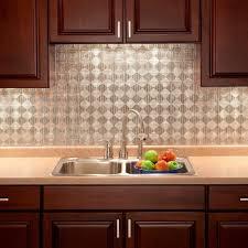 kitchen wall panels backsplash 18 in x 24 in traditional 4 pvc decorative backsplash panel in