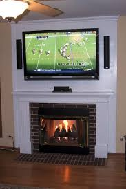 tv over gas fireplace 82 inspiring style for white mounting tv