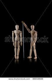 wooden manikins wooden manikin ballerina stock photo 86662255