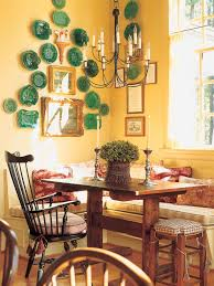 photos hgtv country dining room with stone arch idolza